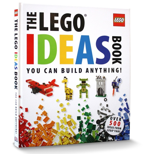 The LEGO Ideas Book You Can Build Anything!