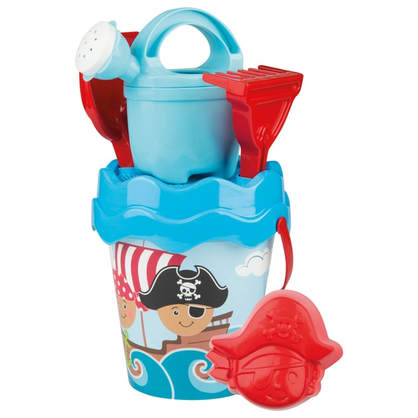 Pirate Bucket Set with Watering Can and Accessories