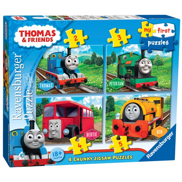 Ravensburger Thomas And Friends My First Puzzles 2 3 4