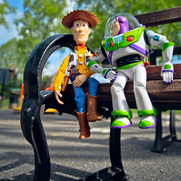Toy Story Interactive Friends Woody & Buzz Lightyear