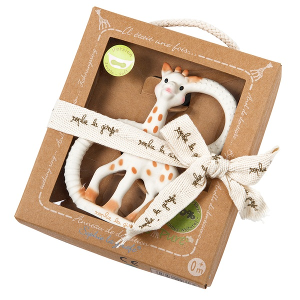 Sophie La Girafe So Pure Teether Ring