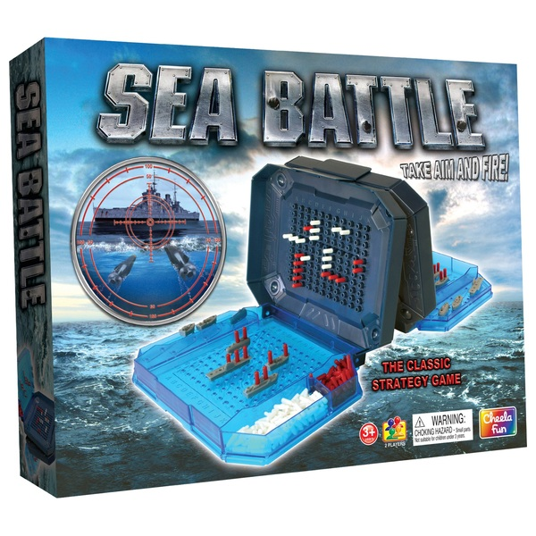 Deluxe Sea Battle Game