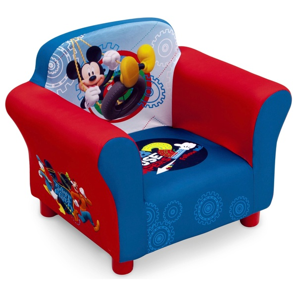 Mickey Mouse Upholstered Chair Mickey Mouse Club House Uk