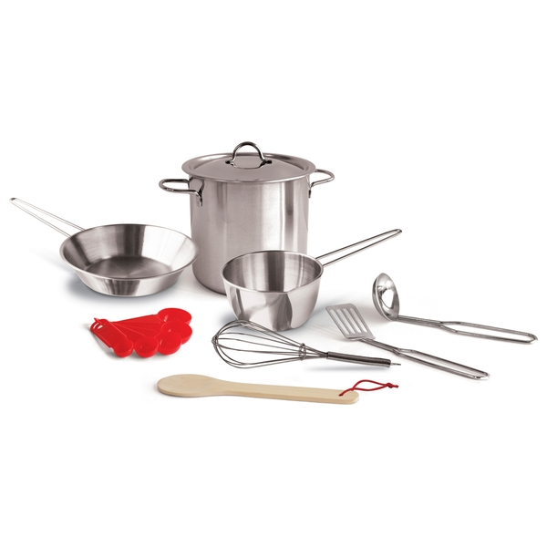 Stainless Steel Cookware Playset Assortment
