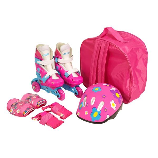Tri Skate Combo Set Pink