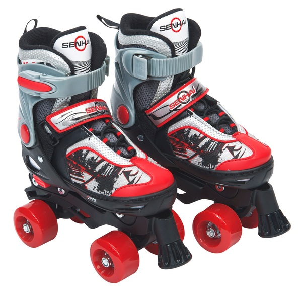 Blindside Quad Skate 11J-13J (UK) Red/Black