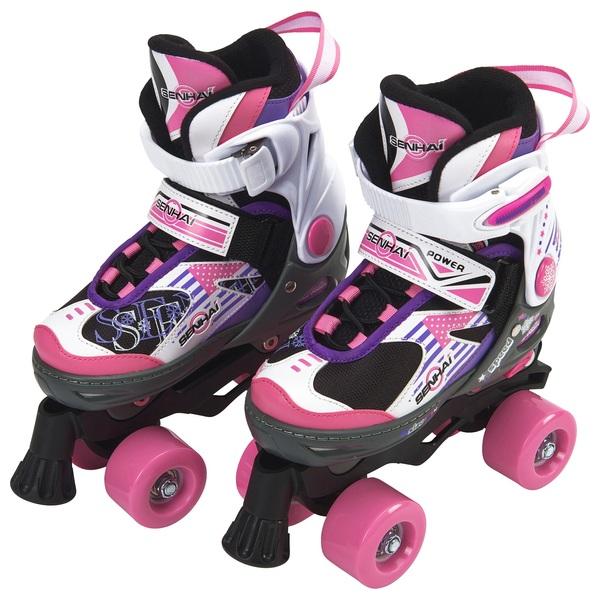 Rollerblades And Toys : Blindside quad skate uk pink purple