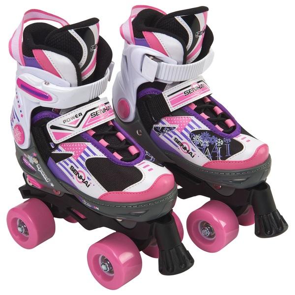 Blindside Quad Skate 11J-13J (UK) Pink/Purple