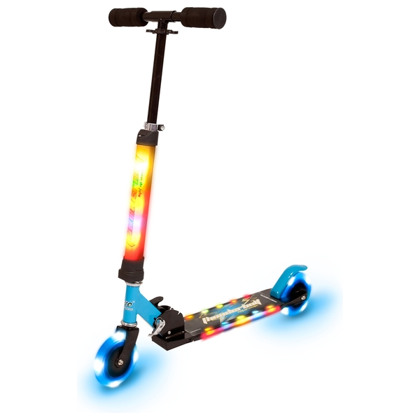 Full Light Up Blue Scooter