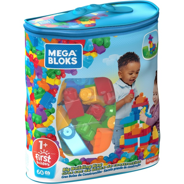 Mega Bloks First Builders Big Building Bag Classic - Mega Bloks UK