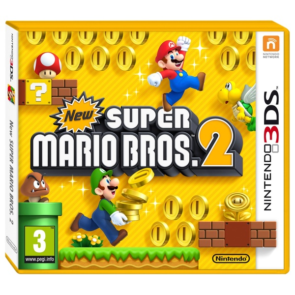 New Super Mario Bros 2 3DS - 3DS Games UK