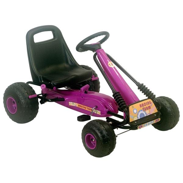 Purple Racing Team Go Kart