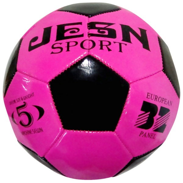 Pink Black Size 5 Football