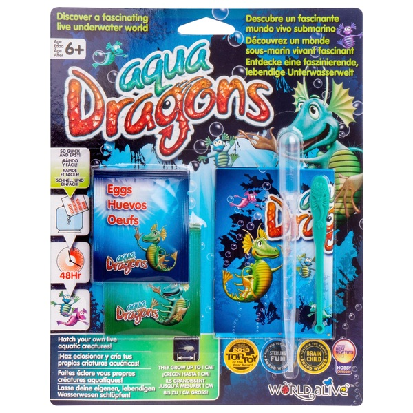 Aqua Dragons Eggs and Food Pack