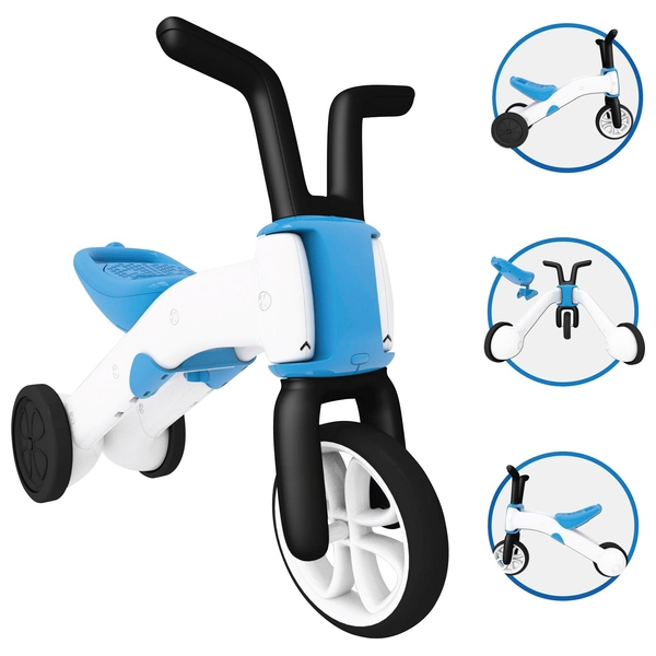 Chillafish Bunzi Balance Bike Blue
