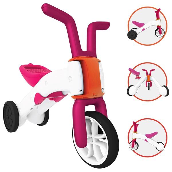 Chillafish Bunzi Balance Bike Pink