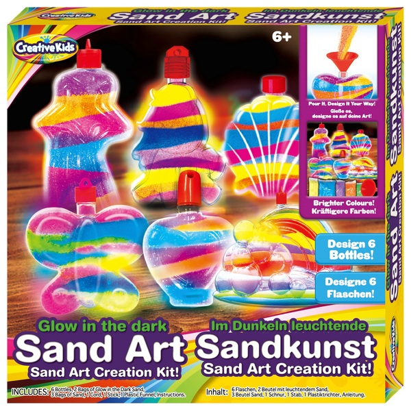 Glow-In-The-Dark Super Sand Art