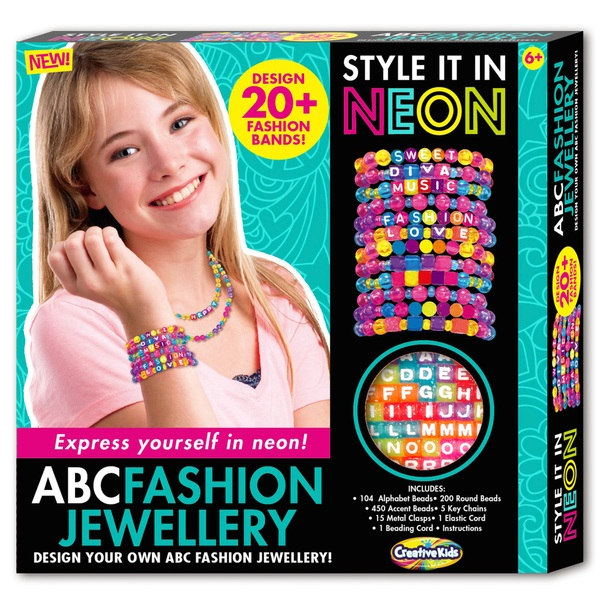 Style It In Neon ABC Fashion Set