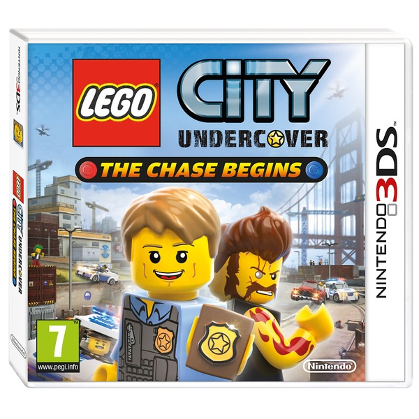 LEGO City Undercover The Chase Begins Selects 3DS