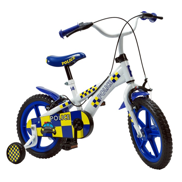 14 Inch Police Bike