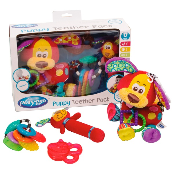Playgro puppy teether gift pack infant toys uk playgro puppy teether gift pack negle Image collections