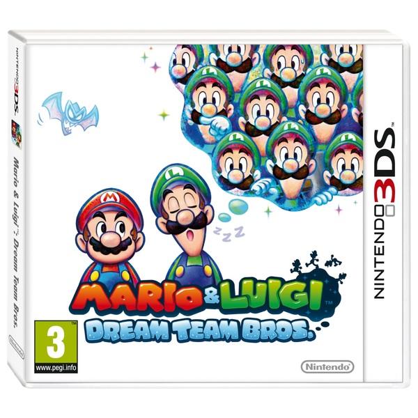 Mario & Luigi Dream Team 3DS