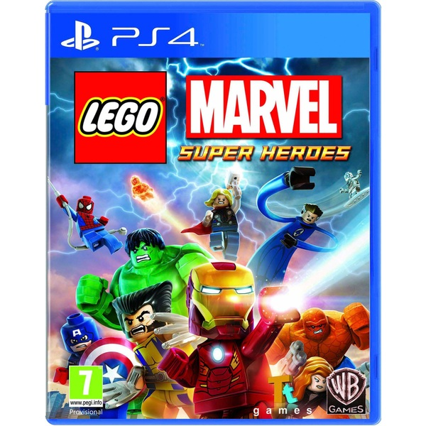 LEGO Marvel Super Heroes PS4 - PlayStation 4 Games UK