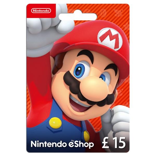 £15 Nintendo eShop Card