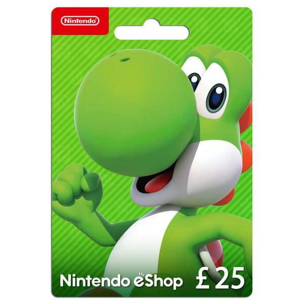 £25 Nintendo eShop Card - Gaming Gift Cards UK