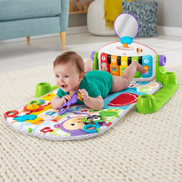 Fisher-Price Deluxe Kick & Play Piano Gym Play Mat