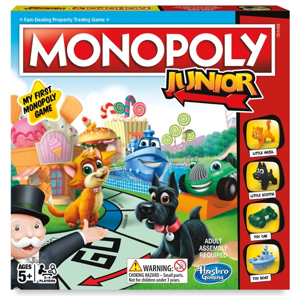 Monopoly Junior Game - Assortment