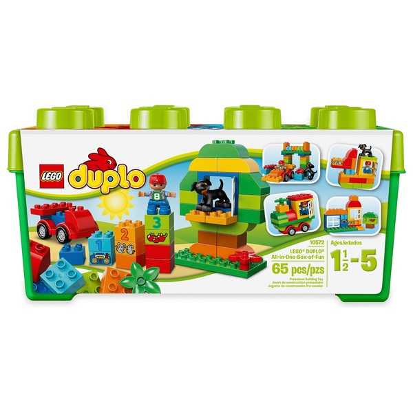LEGO 10572 DUPLO My First All in One Box of Fun Brick Set