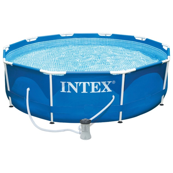 Intex 10ft Metal Frame Pool and Pump
