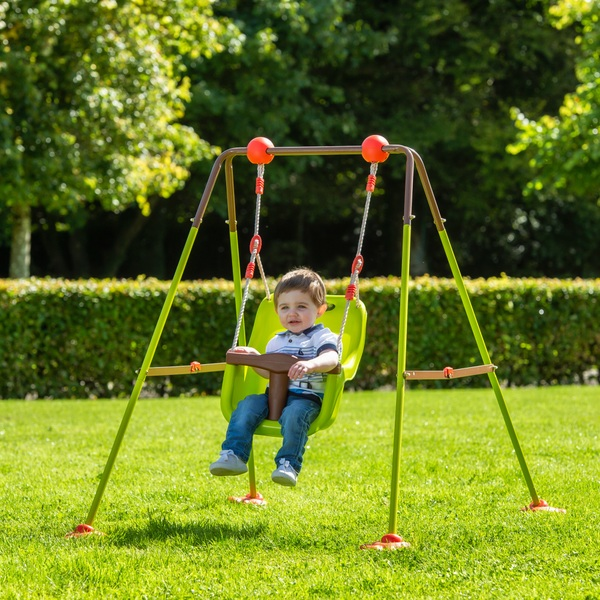 Outdoor Baby Swing >> Foldable Baby Swing Set Swings Uk