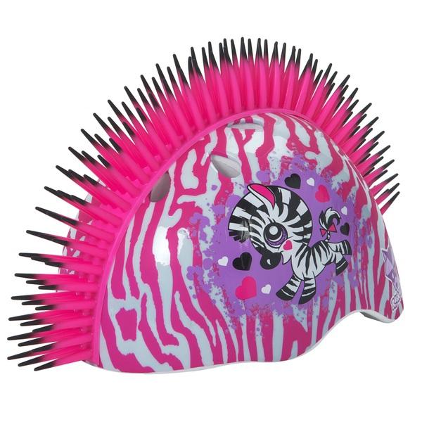 Raskullz Mohawk Zebra Pink Helmet (50-54cm)