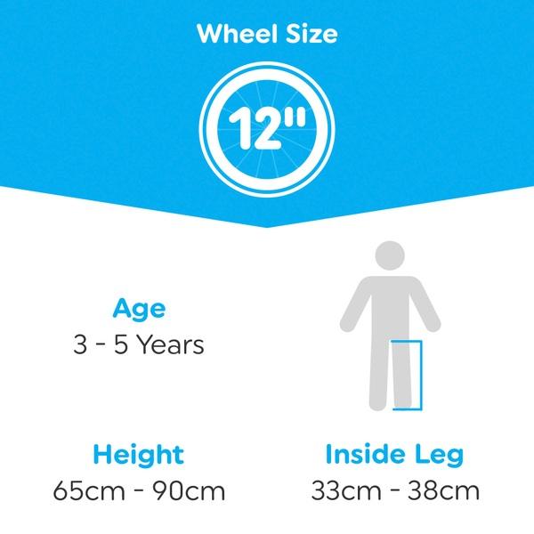 12 Inch Minnie Bow Tique Bike 12 Bikes 3 5yrs Uk