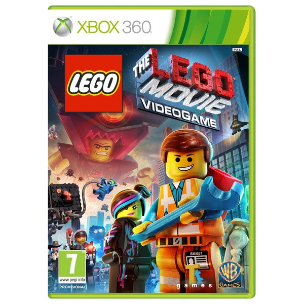 Old Xbox 360 Games : Lego the movie xbox games uk