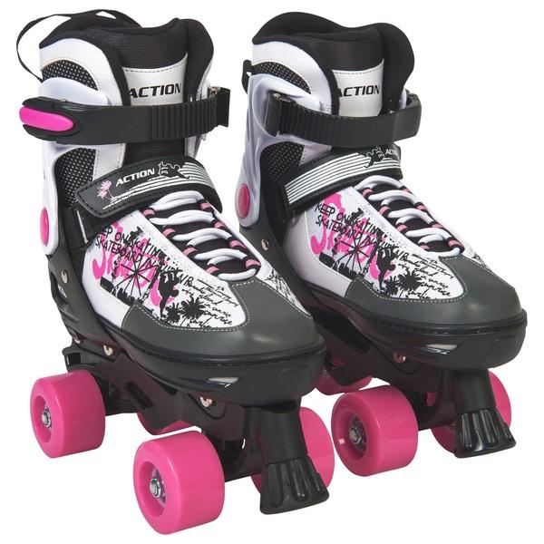 Blindside Quad Skate 4-7 (UK) Pink/White