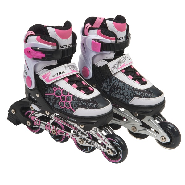 Blindside Inline Skate 1-3 (UK) Pink/White