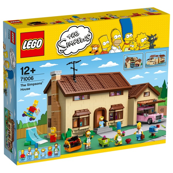 Lego 71006 the simpsons house lego specials uk for Lego house original