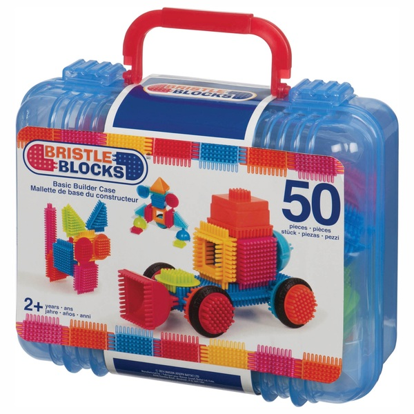 50 Piece Bristle Blocks In Case by Smyths