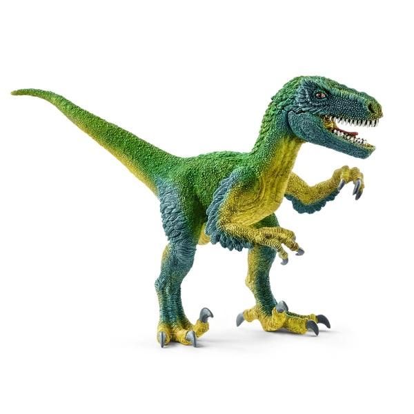 Schleich Velociraptor, green