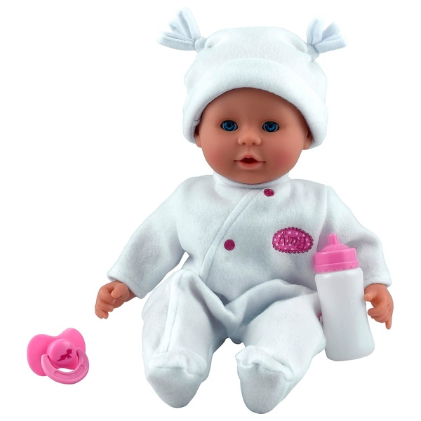 Little Treasure Doll White Outfit