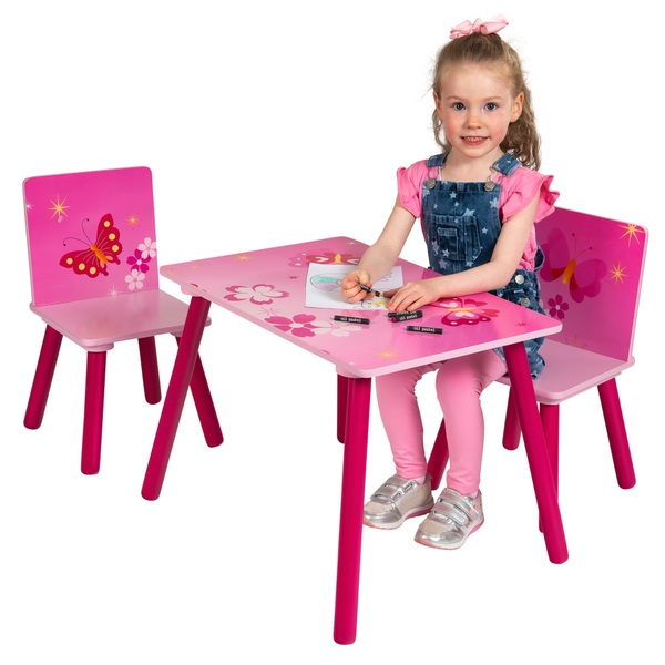 Butterfly Table and Chair Set