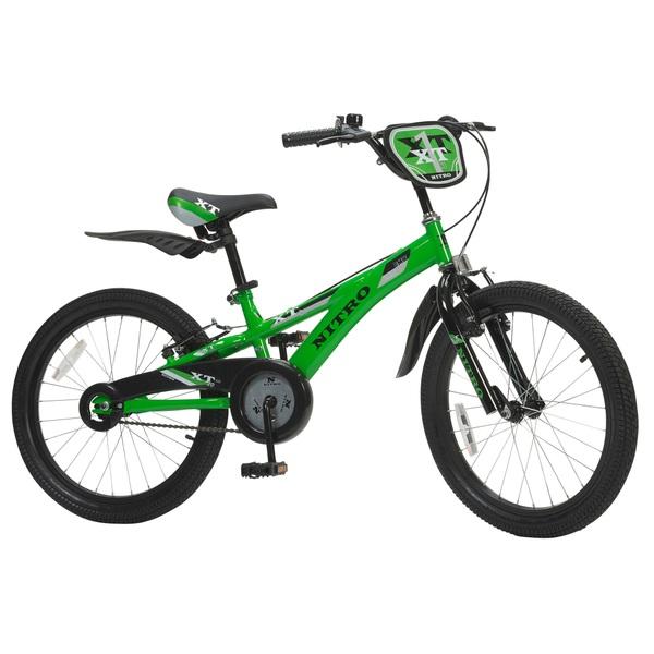 20 Inch Nitro Green Bike