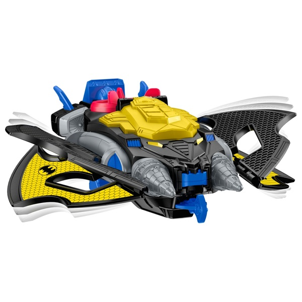 Imaginext DC Super Friends Batwing and Batman 21cm Figure