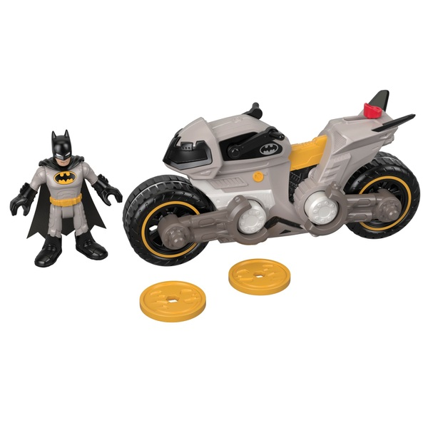 Imaginext DC Super Friends Batman and Cycle