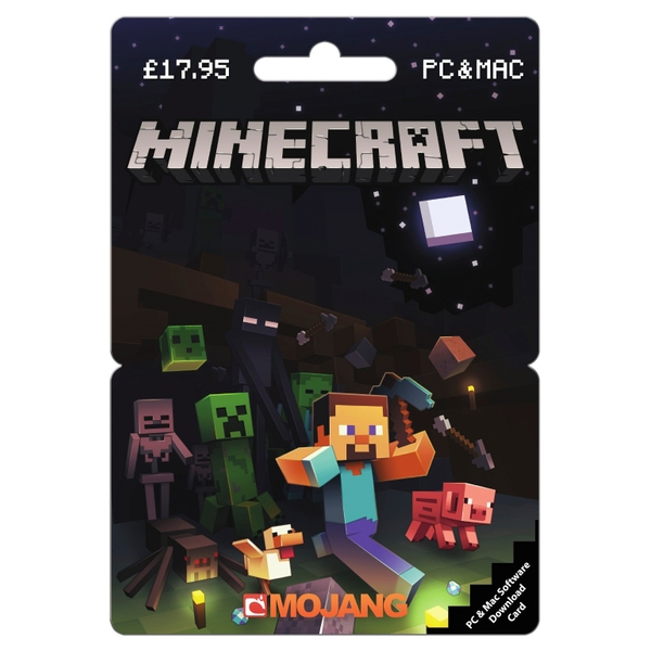 Minecraft PC £17.95 POSA Card