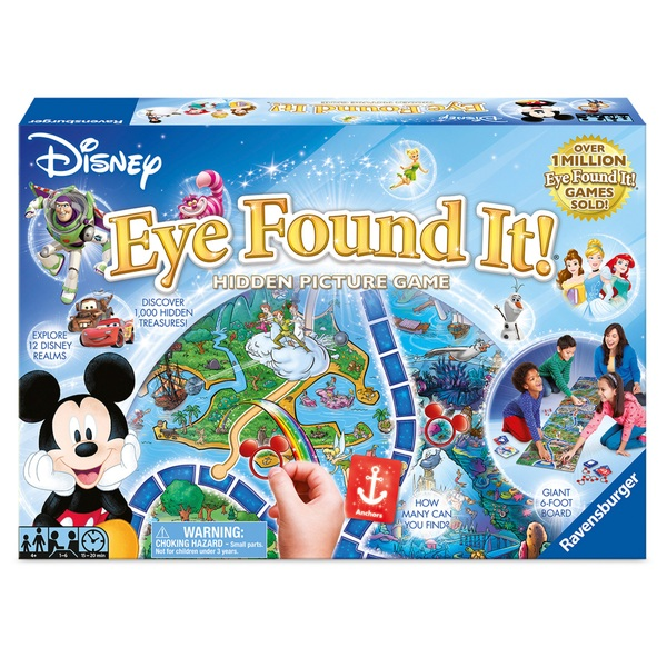 Ravensburger Disney Eye Found It Hidden Picture Game