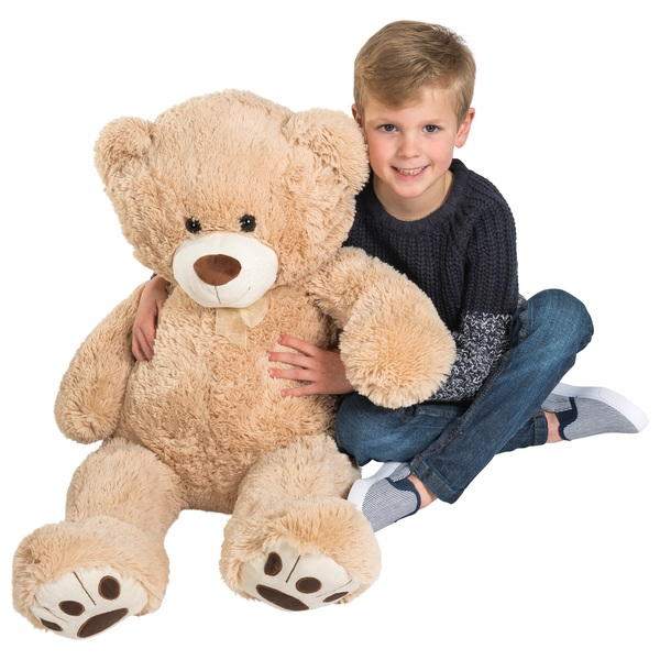 f9601631bce8 90cm Giant Brown Teddy Bear - Soft Toys UK
